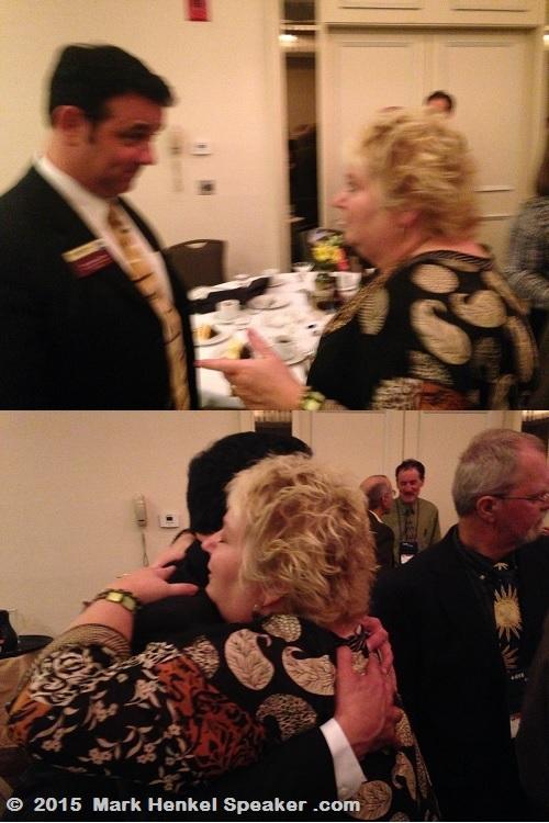 Mark Henkel - Debby Hoffman Adair - District 45 Spring Conference - May 15-17 2015 - 500x750
