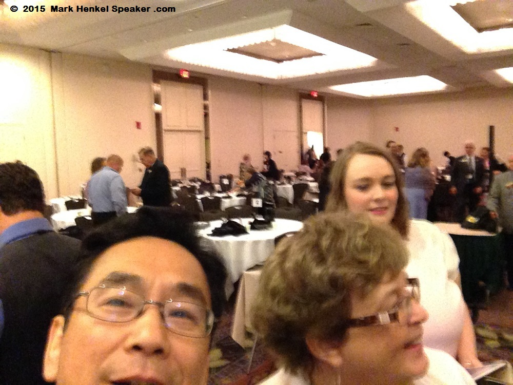Mark Henkel - Steve Chen photobomb selfie - District 45 Spring Conference - May 15-17 2015 - 1000x750