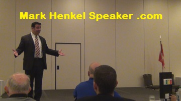 Mark Henkel - Table Topics - D45 2015-05-16 - 1