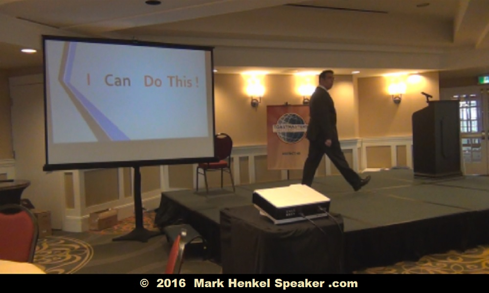 I Can Do This - Pass It On - 40 min. workshop keynote by Mark Henkel