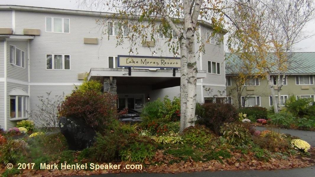 Lake Morey Resort - Fairlee, VT - Entrance