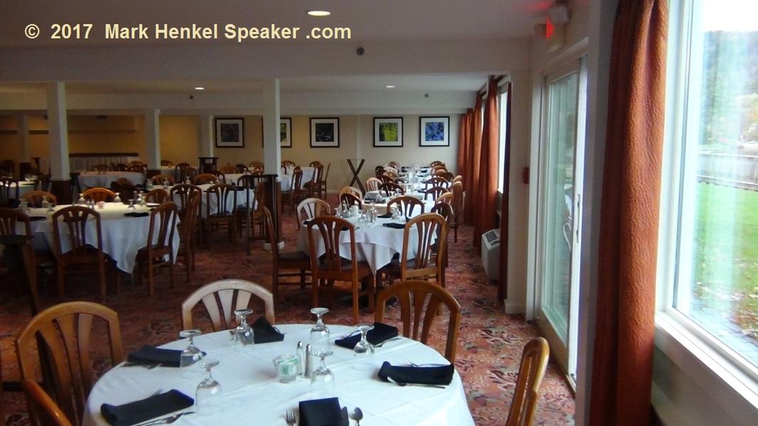 Lake Morey Resort – Fairlee, VT – Breakfast Dining Room