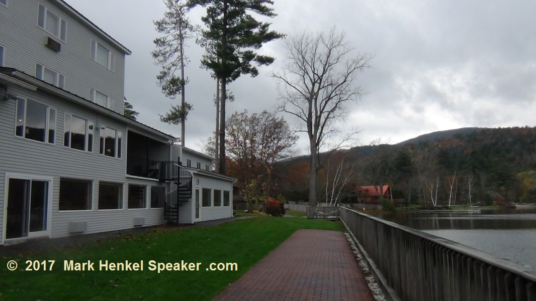 Lake Morey Resort – Fairlee, VT – Panorama View of Lake from Left to Right #1