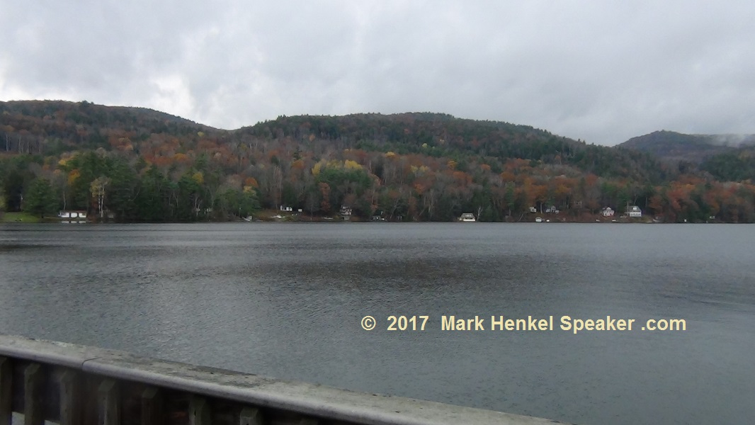 Lake Morey Resort – Fairlee, VT – Panorama View of Lake Morey from Left to Right #3