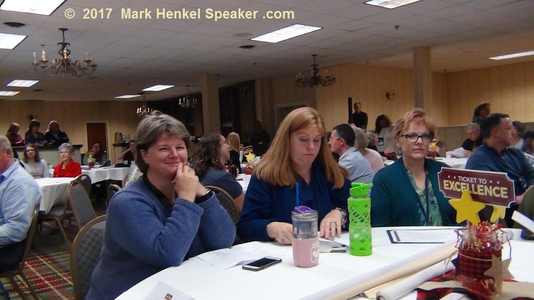 District 45 Fall Conference 2017 - Priscilla Hansen Mahoney, Angela Chute, Dawna-Jean Davis Turchon