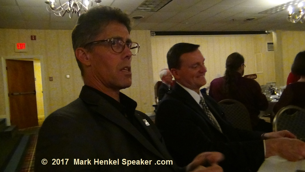 District 45 Fall Conference 2017 - Joe Grondin and Tom Dowd