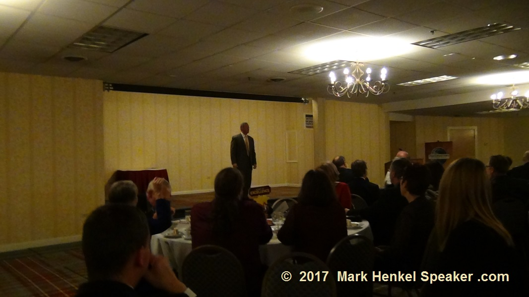 D45 Fall Conference 2017 - the 2005 WCPS Lance Miller keynote at District Director's Banquet