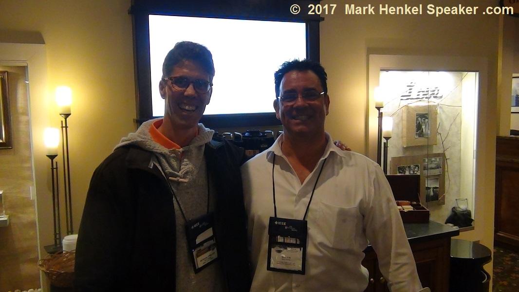 Accredited Speaker Joe Grondin & Mark Henkel at the D45 Fall Conference 2017