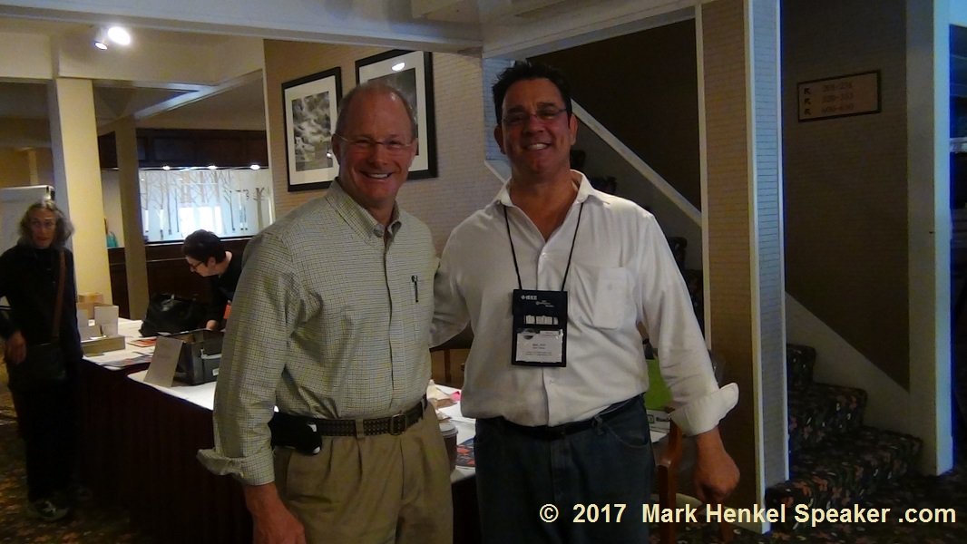 2005 WCPS Lance Miller & Mark Henkel at the D45 Fall Conference 2017