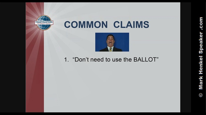 Section 3 - Common Claims