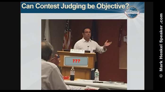 Can Contest Judging be Objective?