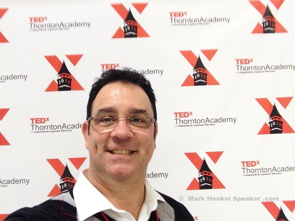 Mark Henkel at TEDxThorntonAcademy 2019-03-16